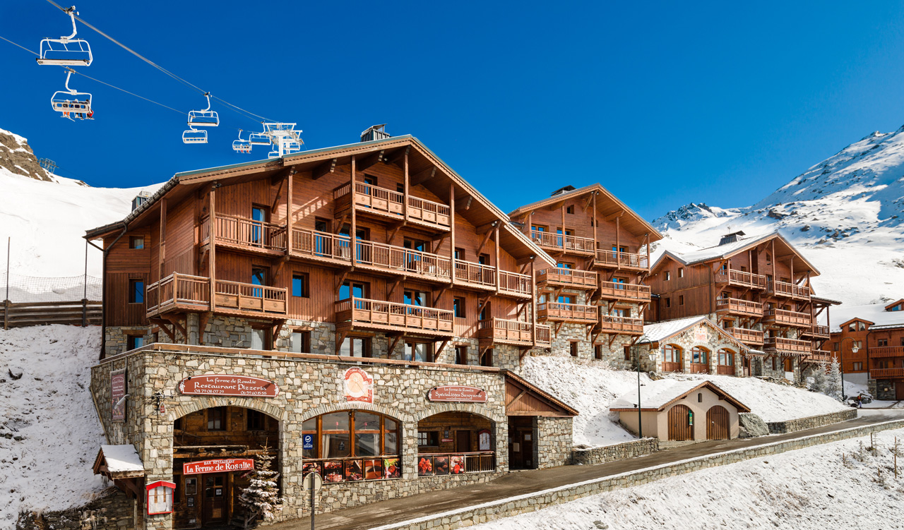 location chalet val thorens