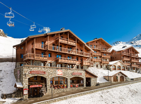 Location appartement ski val thorens