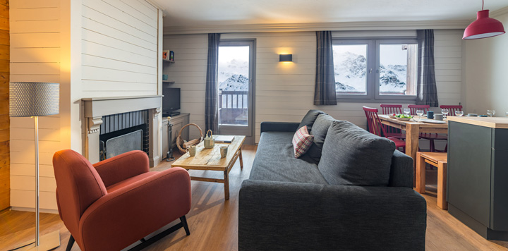 Appartement Val Thorens 6-8 personnes