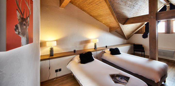 Location appartement 12 personnes Val Thorens Chalets de Rosaël