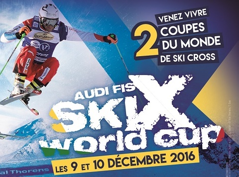 Audis Fis Ski cross Coupe du monde Val Thorens