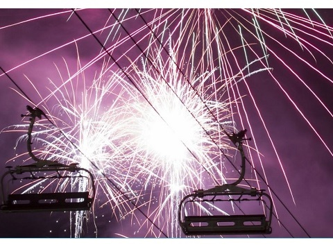 New year Eve celebrations in Val Thorens
